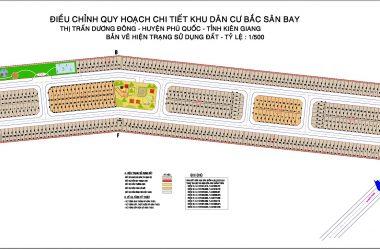 Khu tái định cư khu phố 10 Phú Quốc