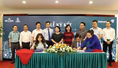 Tân Á Đại Thành – Meyland và ngân hàng Vietcombank ký kết hợp tác toàn diện