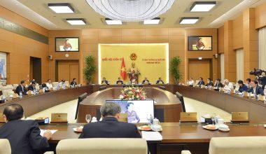 Dự kiến nội dung phiên họp thứ 51 của Ủy ban thường vụ Quốc hội